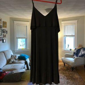**BRAND NEW** Anthropologie Black Slip Dress